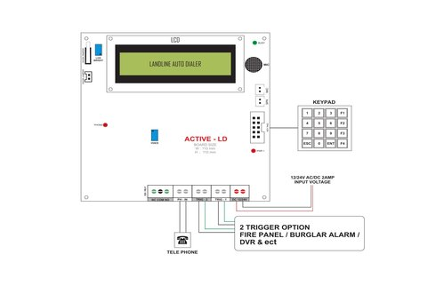 Burglar Alarm Systems Home Alarm Systems Wiring Diagram Atss